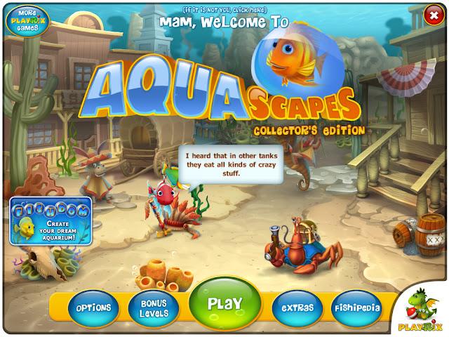 تحميل لعبة حوض الاسماك للكمبيوتر برابط مباشر مجانا Download aquascapes game