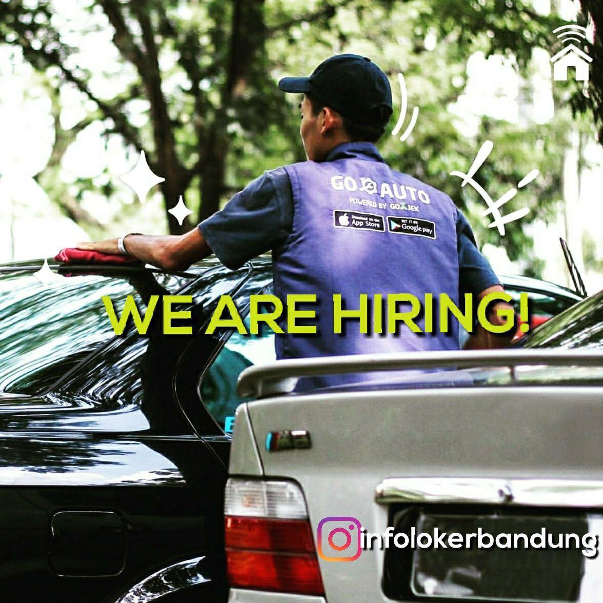 Lowongan Kerja Auto Detailing ( Mitra Gojek ) Bandung April 2018
