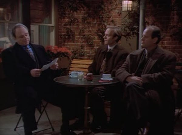 Frasier - Season 3 Episode 15: A Word to the Wiseguy