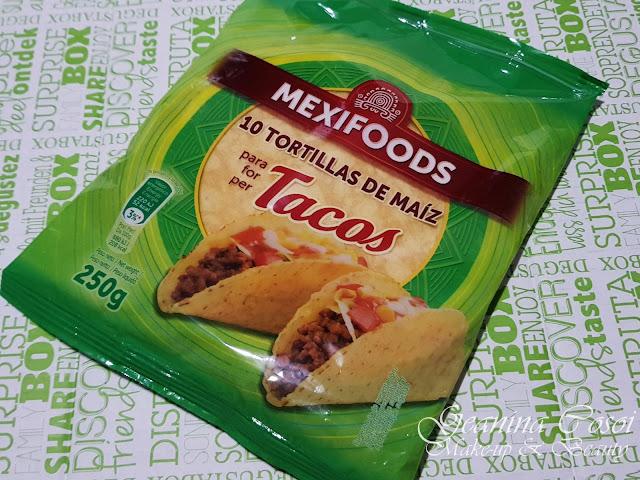 Tortillas de maíz para tacos Mexifoods Caja Degustabox - Febrero ´18
