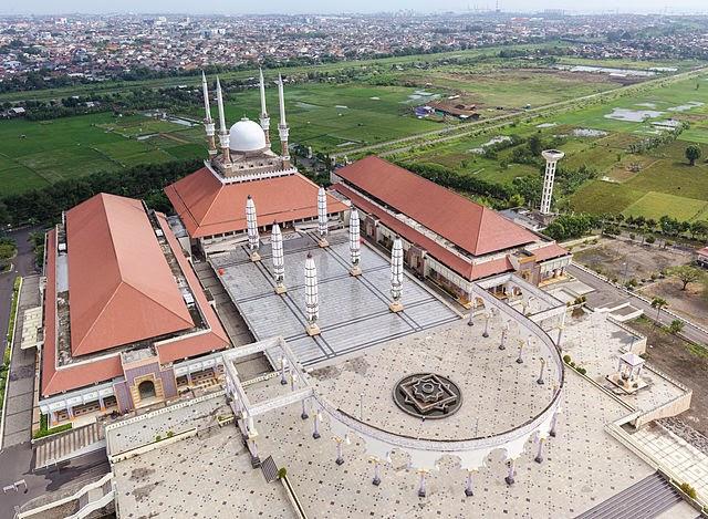 Masjid Agung Jawa Tengah di Semarang