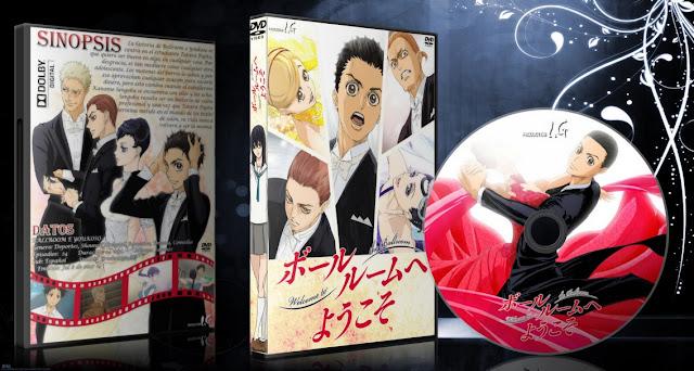 Ballroom e Youkoso | Cover DVD | MEGA |