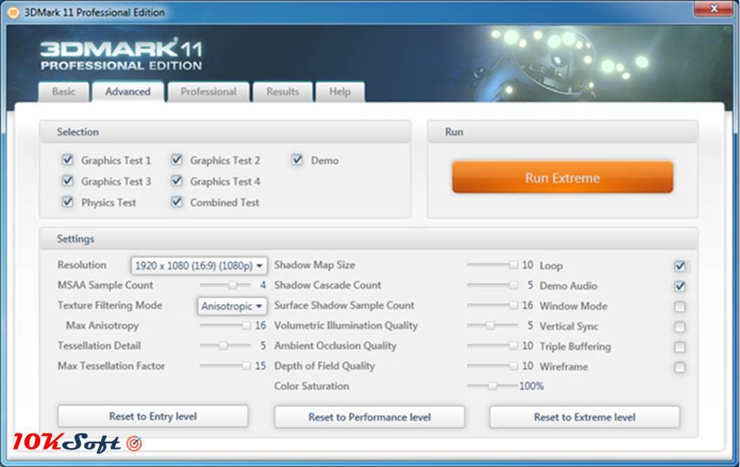 3DMark Professional Edition 2.4.3802 Offline Installer Setup Download