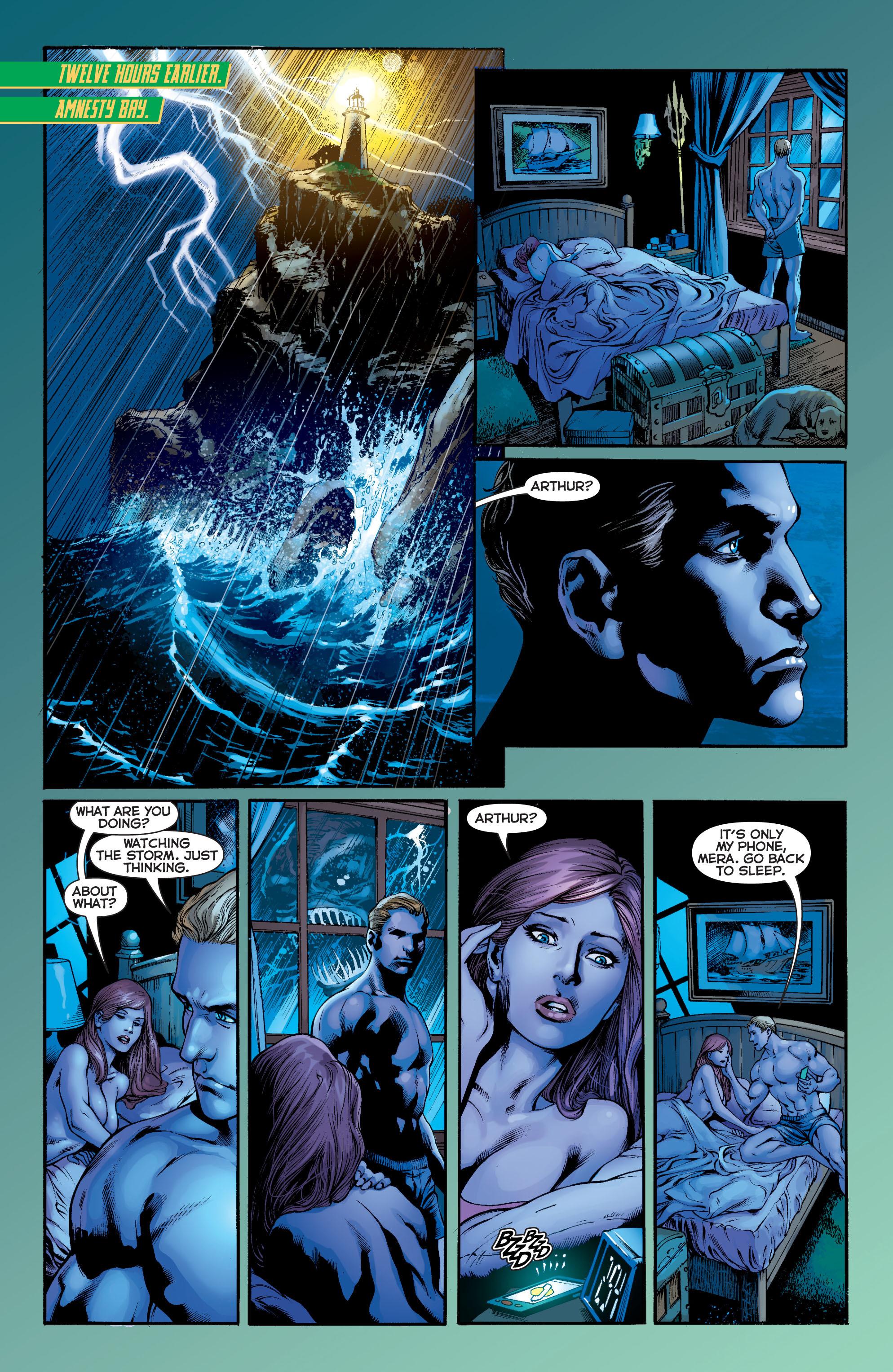 Read online Aquaman (2011) comic -  Issue #5 - 6