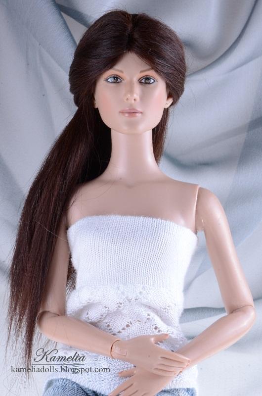 Tonner Tyler doll alpaca wig.