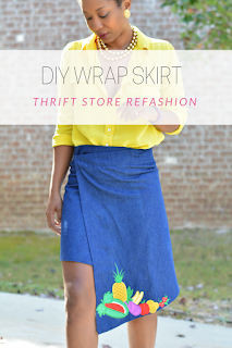 thrift store fashion diy