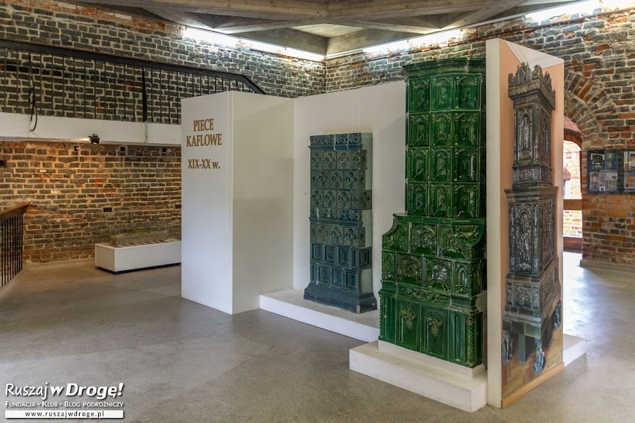 Wieża Radziejowskiego we Fromborku - wystawy