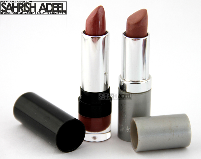 Luscious Cosmetics & Golden Rose 2000 Lipsticks
