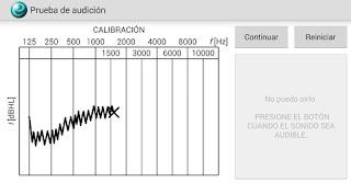software de audiometria tonal para detectar perdida de la audición