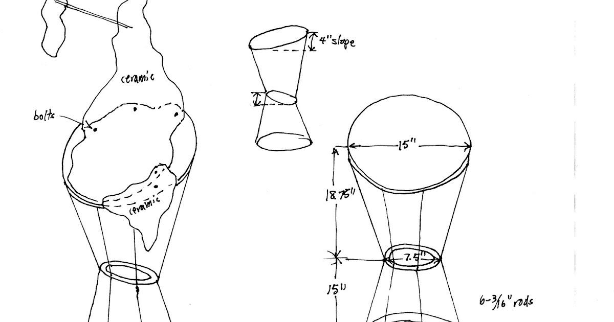 LFG Ceramic Art: pedistal sketches & kiln trouble