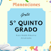 PLANEACIONES 5º QUINTO GRADO  MES DE DICIEMBRE 2018-2019