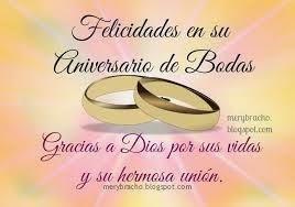 anniversaire de mariage en espagnol