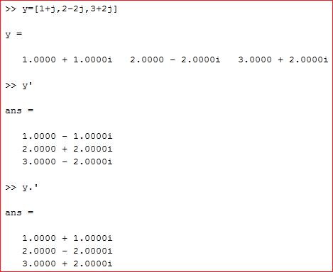 transpos bilangan kompleks