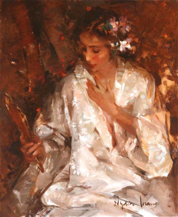 Масляная живопись. Nydia Lozano 15