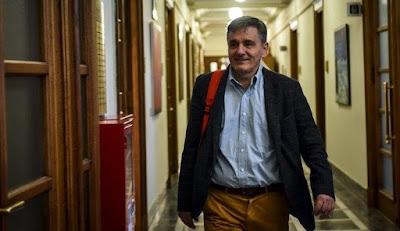 Επίτιμος Διδάκτωρ του ΤΕΙ στην Πρέβεζα θα αναγορευθεί ο Ευκλείδης Τσακαλώτος, την Τρίτη 29 Μαΐου