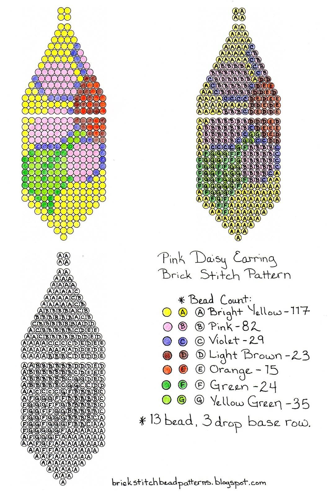 Native American Beaded Earrings Patterns Free Amazing Design