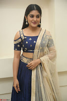 Niveda Thomas in Lovely Blue Cold Shoulder Ghagra Choli Transparent Chunni ~  Exclusive Celebrities Galleries 082.JPG