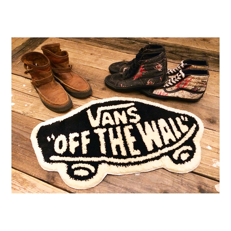 【qee Blog】 Vans Off The Wall Rug Mat