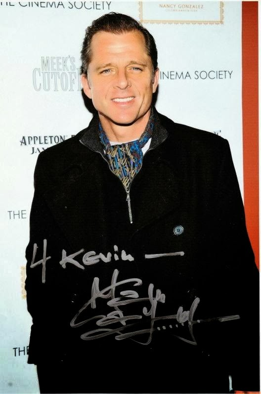 Autograph Admirers: MAXWELL CAULFIELD - by Kevin