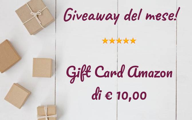 Giveaway del mese!