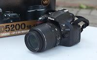 harga Jual Kamera DSLR Bekas Nikon 5200