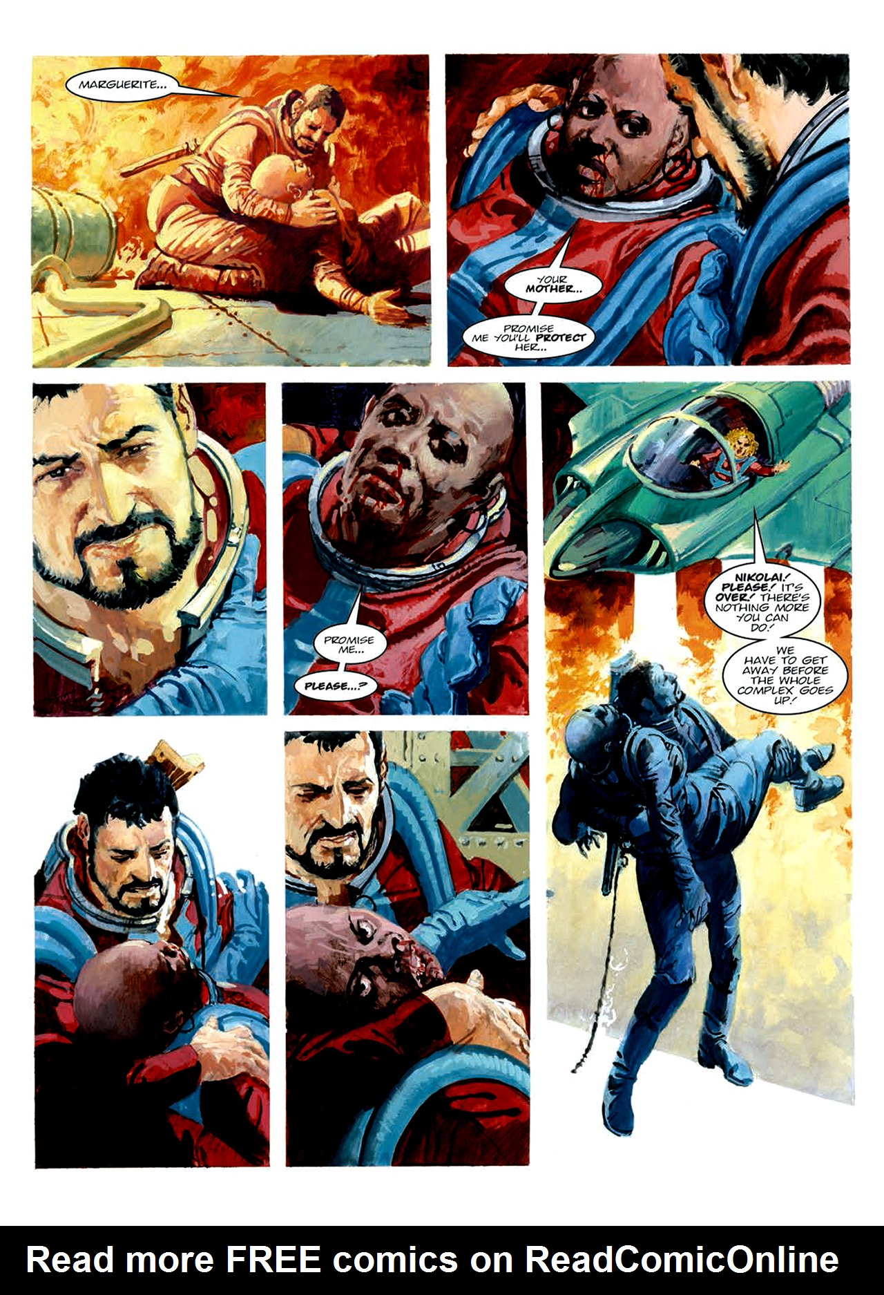 Read online Nikolai Dante comic -  Issue # TPB 6 - 202