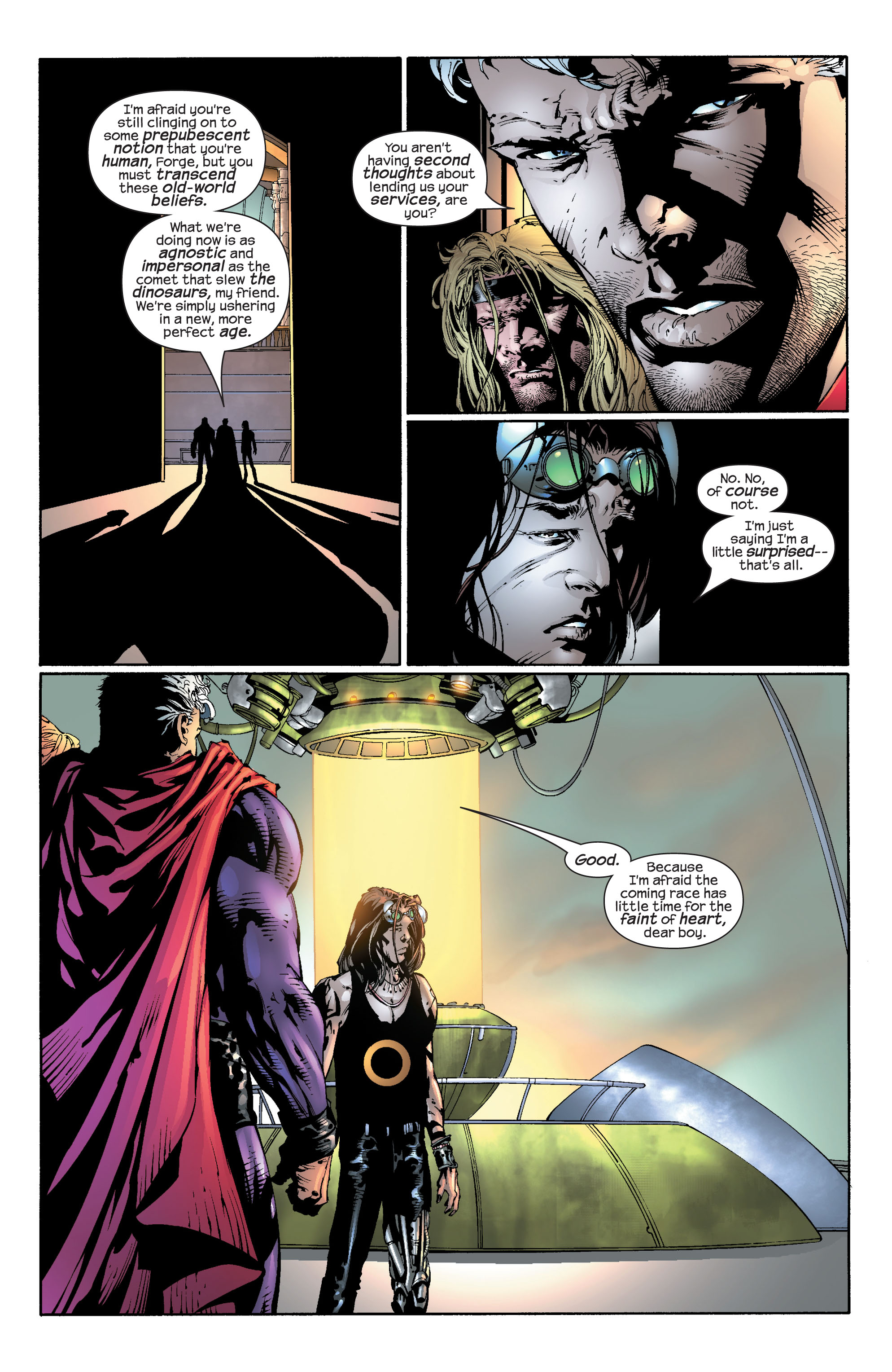 Read online Ultimate X-Men comic -  Issue #30 - 6