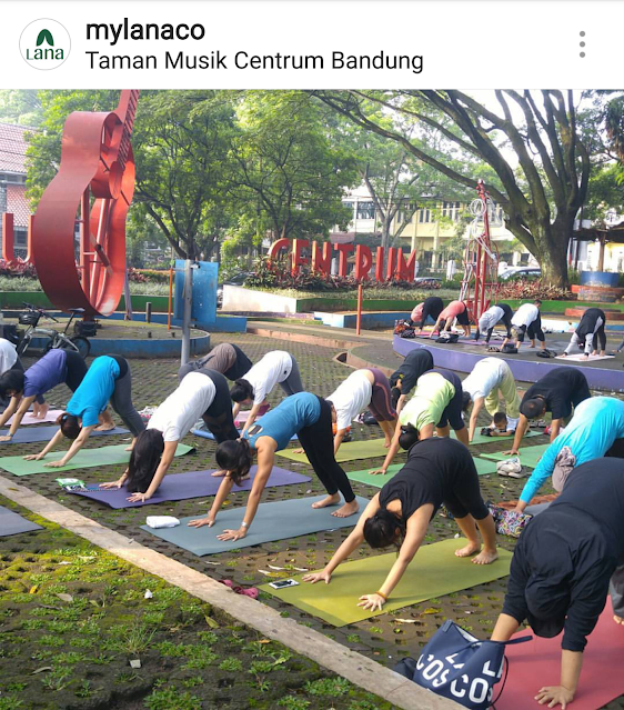 yoga class bandung