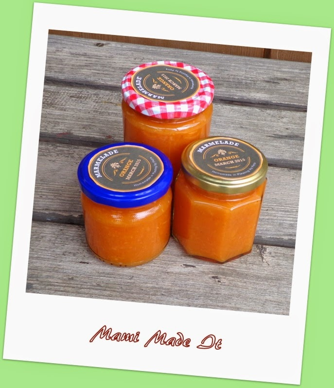 Orange Jam by Mami Made It
