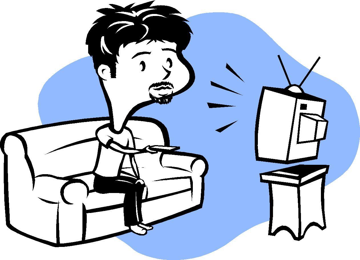 clipart watch tv - photo #7