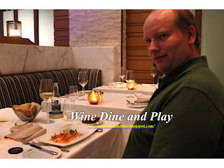 Wine Dine and Play reviewing Wheeler's of St. James in Dubai
