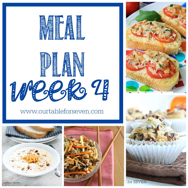 Meal Plan: Week 4