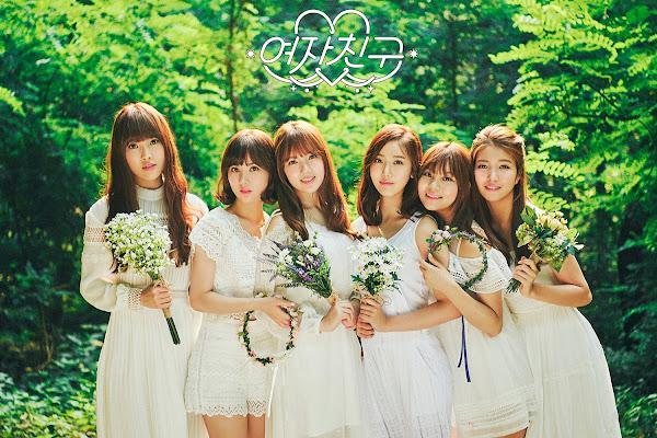 Download Full Mp3 Album GFRIEND LOL 1st Album
