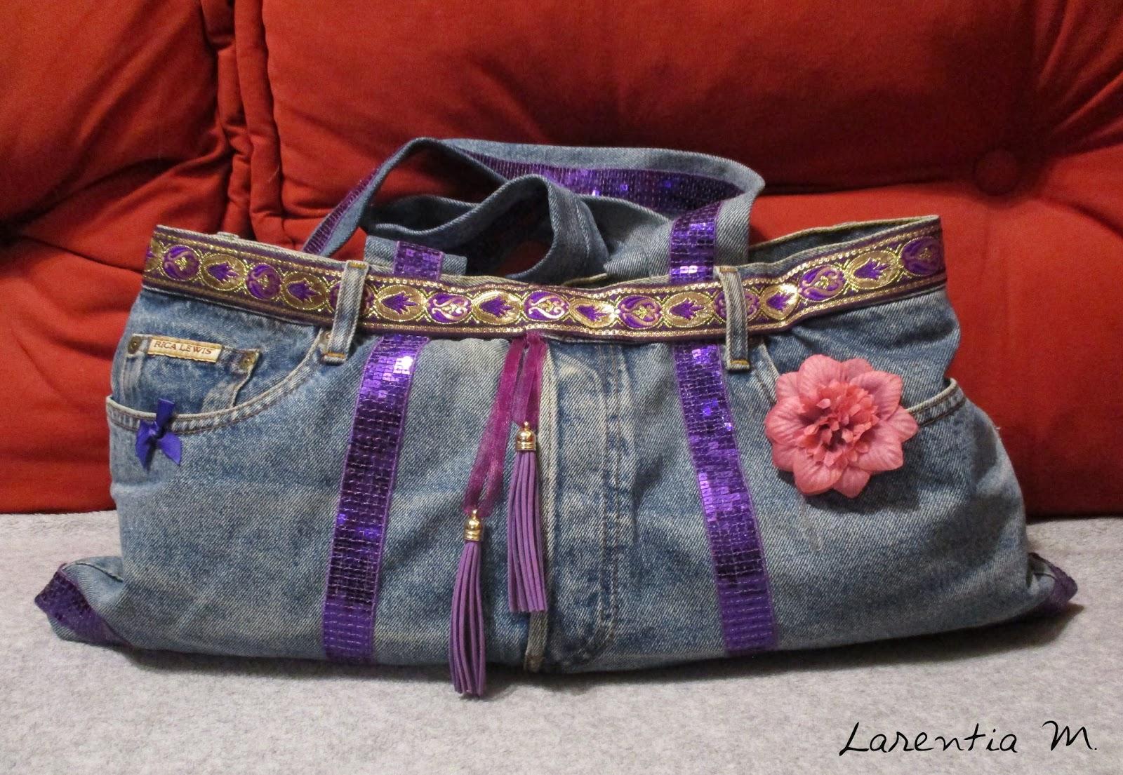 larentia m transformer un jean en sac main. Black Bedroom Furniture Sets. Home Design Ideas