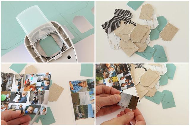 Anleitung DIY Tee-Adventskalender mit Fotos aus dem Jahr Jules kleines Freudenhaus
