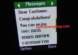 This is new! Enjoy Airtel's double data bonus using this code