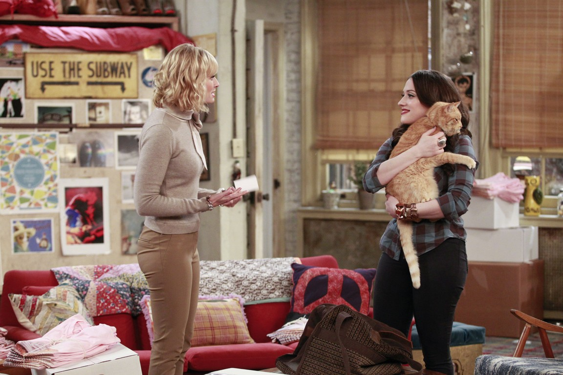2 Broke Girls - Season 4 Episode 15: And the Fat Cat