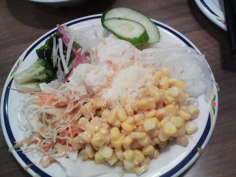 サラダ3 ステーキガスト一宮尾西店4回目