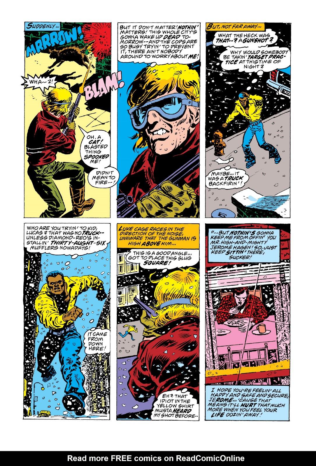 Read online Marvel Masterworks: Luke Cage, Power Man comic -  Issue # TPB 3 (Part 3) - 88