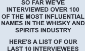 Whisky Insiders Interviews