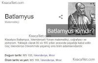 Batlamyus Fotoğrafı