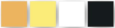 combinaison  de couleurs Stampin' up! utilisées