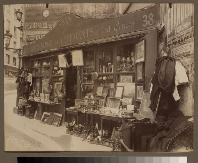 Brocanteur 38 rue Descartes (5e arr). 1909