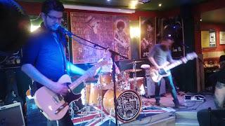 MR.X - Live La belle anglaise 2017. Stoner rock blues