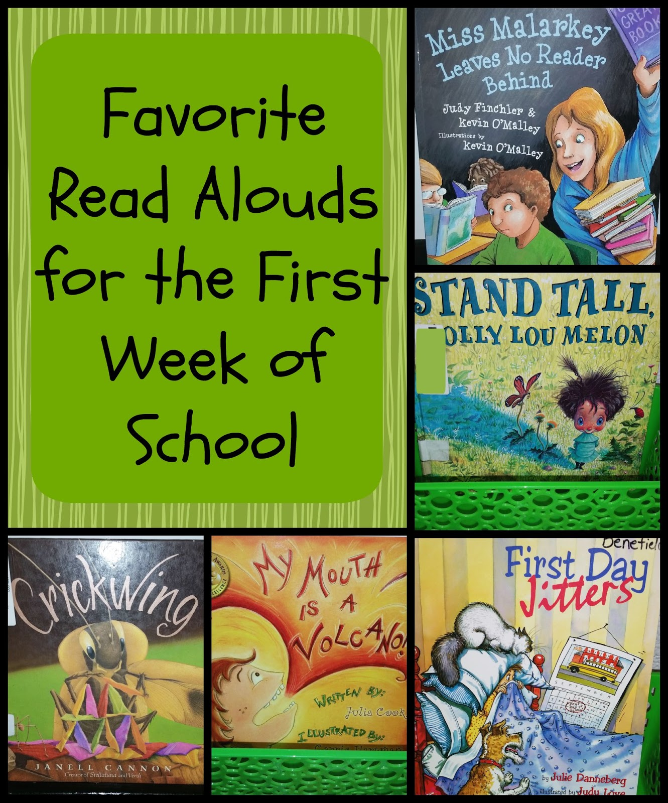 Teaching Fourth Favorite Read Alouds For The First Week