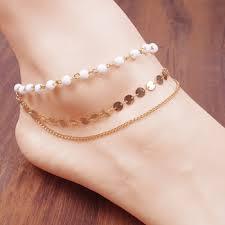 pearl anklet designs in Azerbaijan