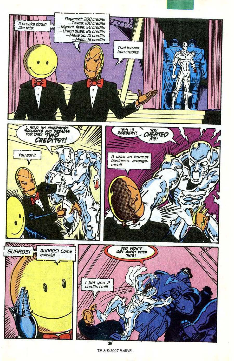 Read online Silver Surfer (1987) comic -  Issue #41 - 31