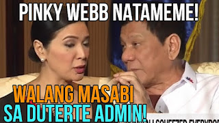 Napakalupet Na Duterte! Natameme Si Pinky Webb Sa One On One Interview Nila!