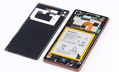 thay màn hình Sony Xperia Z tại nhà