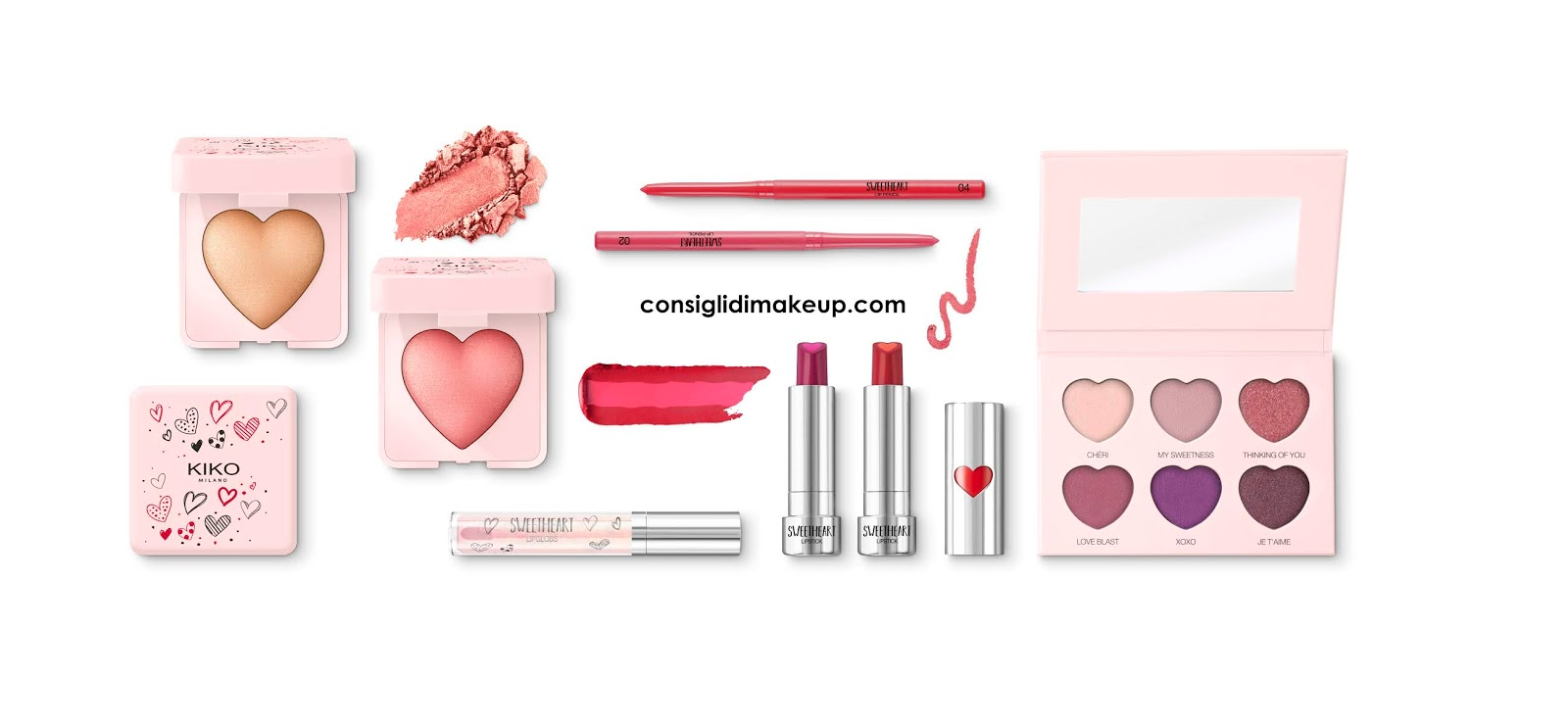 sweetheart collection kiko anteprima